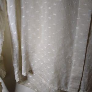 Madewell Tops - Madewell Broadway & Broome   silk sheer buttondown